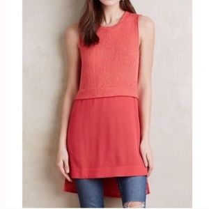 Anthropologie Coralee Tunic
